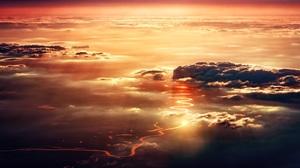 Nature Sky Sunset Landscape 5963x2912 Wallpaper