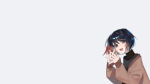 Original Characters Zumi Black Hair 2560x1440 Wallpaper