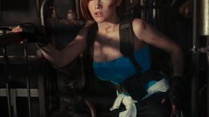 Jill Valentine Resident Evil Resident Evil 3 Resident Evil 3 Remake Resident Evil 5 Capcom Cosplay V 933x1400 Wallpaper