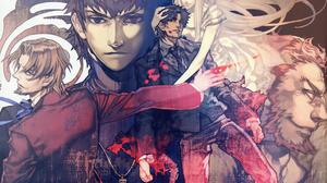 Irisviel Von Einzbern Kirei Kotomine Kiritsugu Emiya Rider Fate Zero Tokiomi Tohsaka 3267x2397 Wallpaper