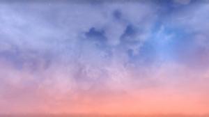 The Elder Scrolls Online Sky Clouds Pink Blue Stars PC Gaming 2593x1152 Wallpaper