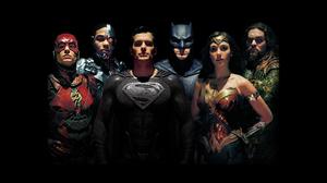 Justice League Superman Batman Wonder Woman Flash Cyborg DC Comics Aquaman Gal Gadot Jason Momoa Hen 2400x1350 Wallpaper