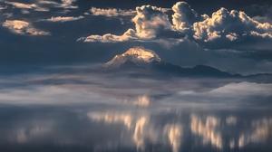 Nature Mountain Cloud 2048x1365 wallpaper