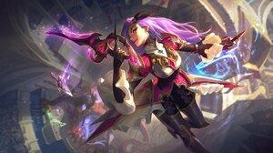 Queen Katarina Katarina League Of Legends League Of Legends Riot Games 4096x2305 Wallpaper
