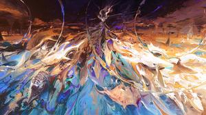 Fantasy Women 2992x1376 wallpaper