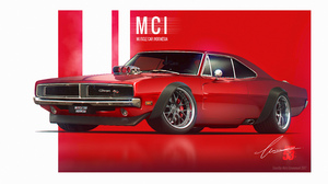 Dodge Charger Red Car 4959x3076 Wallpaper