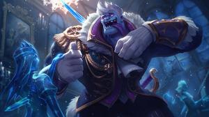 Dr Mundo League Of Legends League Of Legends 3500x2061 wallpaper
