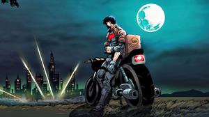 Dc Comics Jason Todd Moon Motorcycle Robin Dc Comics 3840x1949 Wallpaper