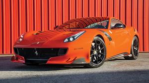 Car Ferrari Ferrari F12berlinetta Orange Car Sport Car Supercar Vehicle 4000x2667 Wallpaper