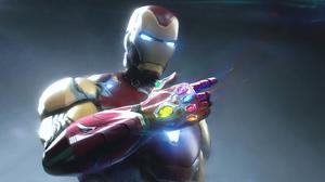 Infinity Gauntlet Iron Man Marvel Comics 3840x1920 wallpaper