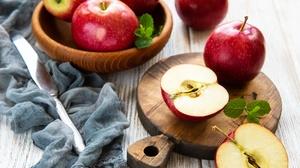 Apple Fruit Still Life 4581x3826 wallpaper