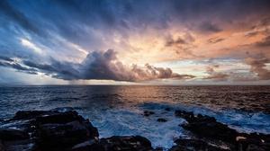 Nature Horizon Cloud 2048x1365 Wallpaper