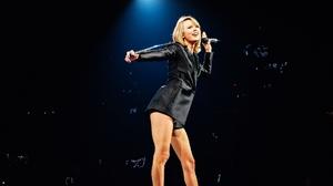 Taylor Swift Women Singer Blonde Legs Blue Eyes Smiling Concerts 1920x1080 Wallpaper