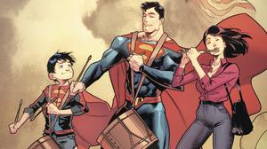 Dc Comics Jon Kent Lois Lane Superboy Superman 1920x1080 Wallpaper