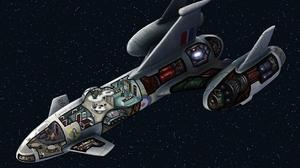 Sci Fi Spaceship 1280x913 wallpaper