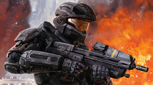 Video Game Art Halo Reach Warrior Weapon Science Fiction 5120x2880 Wallpaper