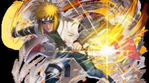 Blonde Blue Eyes Hokage Naruto Minato Namikaze Naruto Weapon 1920x1613 Wallpaper