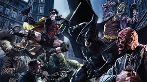 Robin Dc Comics Joker Two Face Dc Comics Scarecrow Batman Oswald Cobblepot Penguin Dc Comics 1920x1080 Wallpaper