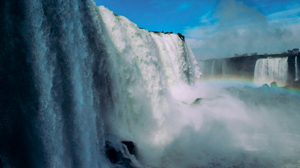 Rainbow Water Waterfall 2560x1707 Wallpaper