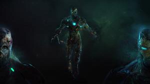 Iron Man Marvel Comics Spider Man Far From Home Tony Stark 5120x2880 Wallpaper