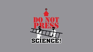 Science Ladders Buttons Text Humor Minimalism 1920x1080 Wallpaper