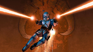 Bounty Hunter Jango Fett Star Wars 1280x1024 Wallpaper