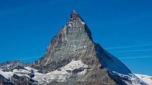 Alps Matterhorn Mountain Nature Peak Sky Snow 2048x1365 wallpaper