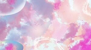 Artistic Colors Digital Art Pastel 1920x1080 Wallpaper