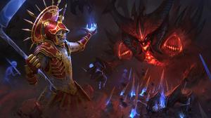 Diablo Diablo Iii Necromancer Diablo Iii 3425x2283 wallpaper