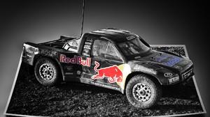 RC 4x4 Nitro Car Red Bull 1920x1440 wallpaper