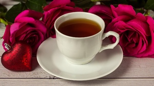Heart Love Romantic Rose Tea Valentine 039 S Day 2025x1138 wallpaper