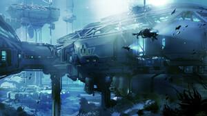Halo 5 Guardians Underwater 1920x1080 wallpaper