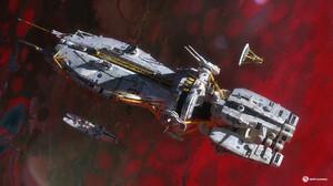 Rasmus Poulsen Artwork Space Spaceship Science Fiction Vehicle 1920x1080 wallpaper