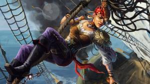 Fantasy Pirate 1920x1080 Wallpaper
