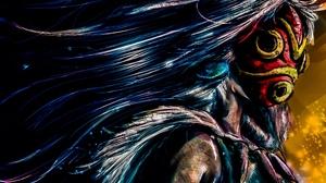 Princess Mononoke 3600x2656 wallpaper