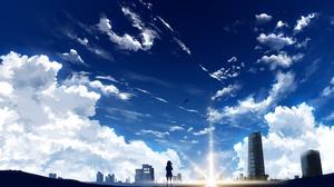 Kimi No Na Wa Mitsuha Miyamizu City 2560x1440 Wallpaper