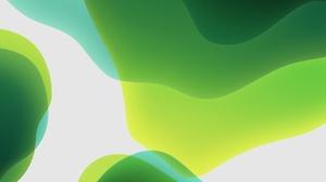 Texture White Green Abstract Digital Art 3208x3208 Wallpaper