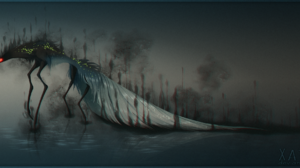 Dark Creature 2200x1000 Wallpaper