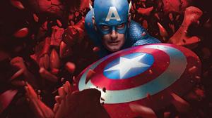 Captain America Marvel Comics 3642x2049 Wallpaper