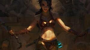 Girl Woman Warrior 1920x1080 Wallpaper