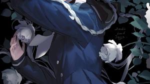 Zombieland Saga White Rose Blue Eyes Anime Braided Hair Silver Hair Solo Blue Dress Sailor Uniform B 1000x1581 Wallpaper