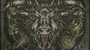 Metal Music Horns Creature Eyes Teeth Within The Ruins Omen 1920x1440 Wallpaper