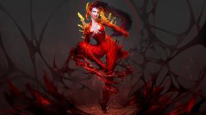 Fantasy Demon 4000x2608 Wallpaper