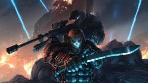 Emile A239 Halo Jun A266 Sci Fi 1920x1080 Wallpaper