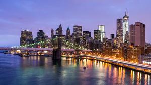 Manhattan New York 2048x1152 Wallpaper
