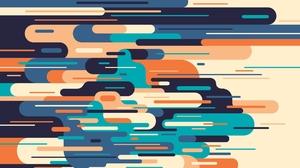 Artistic Colors Digital Art Shapes 2083x1522 Wallpaper