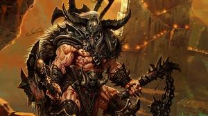 Barbarian Diablo Iii Diablo Iii 2560x1414 wallpaper