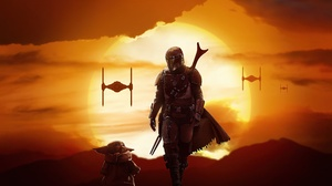 Baby Yoda Star Wars The Mandalorian Character 3840x2160 Wallpaper