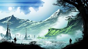 Sci Fi Landscape 1920x1080 Wallpaper