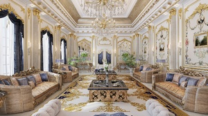 Room Design Living Room Sofa Furniture Luxury Mansion Chandelier 2000x1414 Wallpaper